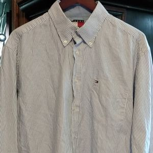 Men's Tommy Hilfiger pinstripe long sleeve